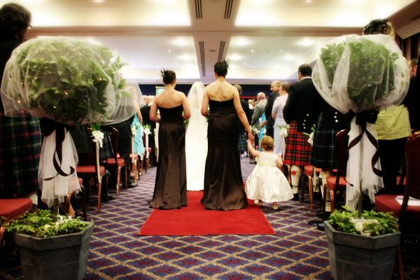 Wedding Flowers For Scottish Weddings In Scotland